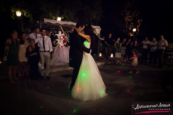 Wedding reportage - First dance a Villa Conti Cipolla