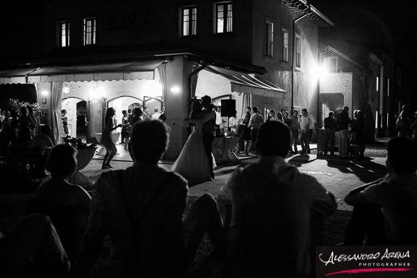 Wedding reportage Verona - First dance a Villa Conti Cipolla