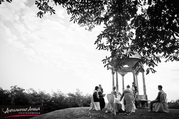 matrimonio all'americana a Varese - Vista panoramica
