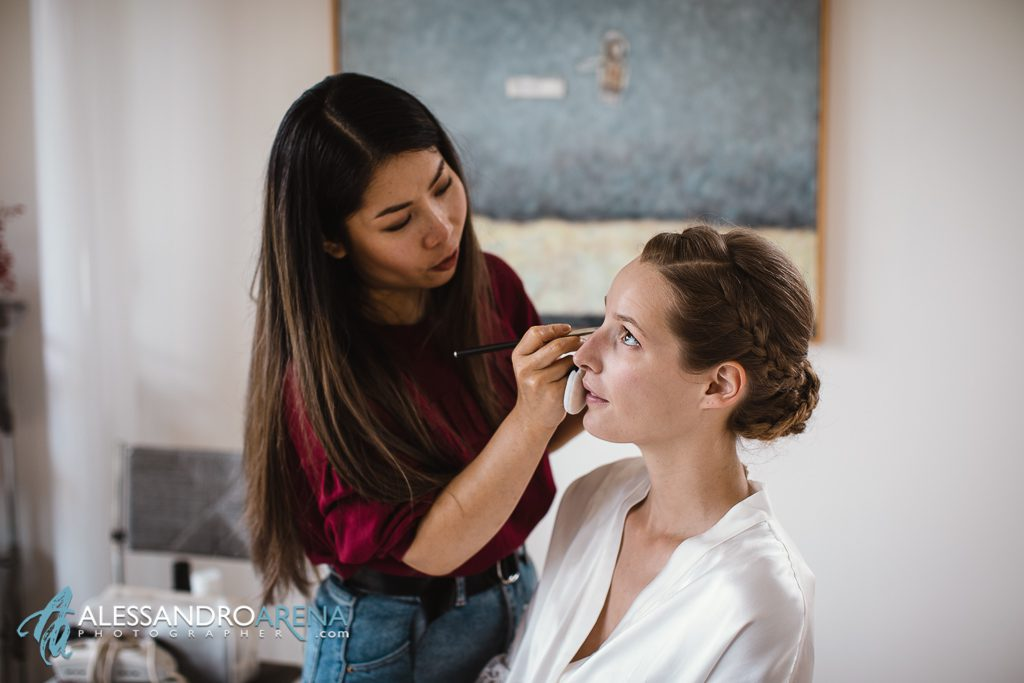 Foto matrimonio Canton Ticino Make-up Sposa