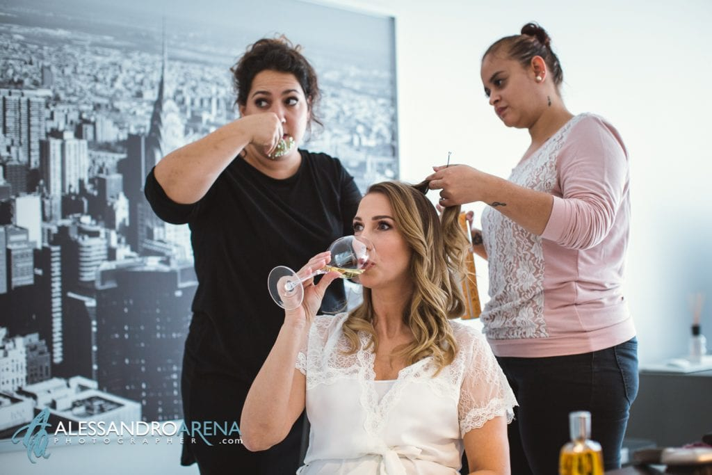 foto preparativi sposa hair stylist bellinzona  - Cheers